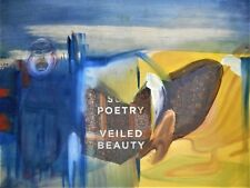 """Original abstract mixed media oil painting by Nalan Laluk, """"Beautiful Poetry."""""""