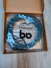 SPEAKER CABLES AUDIOQUEST CV-4 BI-WIRE MT. 3 CAVI STEREO PER DIFFUSORI BI-WIRE