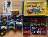 24 Car Case With Matchbox And Hotwheels Cars Bonus Hotwheels 35 Mustang
