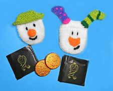 KNITTING PATTERN -Christmas Snowman Snowdog inspired Mint Covers fit After Eight