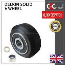 DELRIN SOLID V WHEEL KIT V-SLOT 3D PRINTER CBEAM REPRAP CNC ROUTER UK SELLER