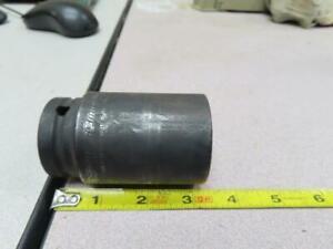 "SNAP ON SIMM332 3/4"" Drive 6-Point 33 mm Flank Drive® Deep Impact Socket NEW"