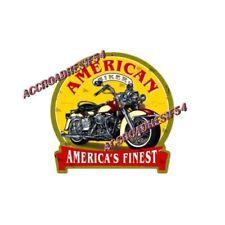 AUTOCOLLANT / STICKER  auto, moto biker american 120 mm  harley, indian us