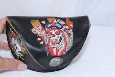 ED HARDY sunglasses case only Skull Wearing Helmet Skull side Roses side FREESHP