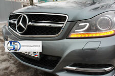 Mercedes Benz W204 2012 2013 C63 AMG Style grille Grill C300 C350 C280 C230 NEW