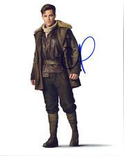 Chris Pine (Wonder Woman) signed authentic 8x10 photo COA