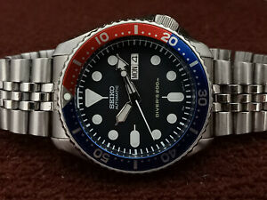 PRE-OWNED SEIKO SCUBA DIVER 7S26-0020 SKX009K2 AUTOMATIC MEN'S WATCH SN 491926