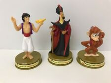 McDonald Toy~2002 Walt Disney~100 Years of Magic~ Aladdin~Jafar~Abu