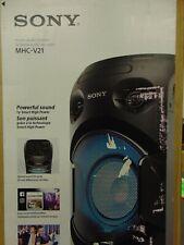 Sony MHC-V21 High Power Audio System Bluetooth, Tuner, CD MHCV21