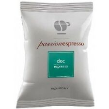 200 capsule caffè LOLLO miscela DEK compatibili Nespresso decaffeinato cialde