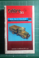 CALIBRE35 CALIBRE 35 35018 - OPEL BLITZ HOLTGAS CONVERSION SET - 1/35 RESIN KIT
