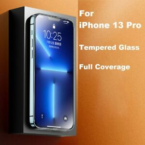 5D Full Coverage REAL Tempered Glass Screen Protector for iPhone 13 PRO 6.1 inch
