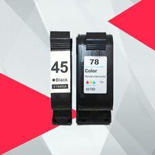 Compatible Ink Cartridges HP 45 HP45 78 Deskjet 1220c 3820 3822 6122 6127 930c