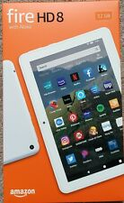 """All-new Fire HD 8 tablet, 8"""" HD display 32 GB White New!"""