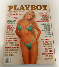 Playboy Magazine December 1991 Dian Parkinson Gala Christmas Issue