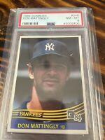 1984 Donruss Don Mattingly PSA 8 New York Yankees