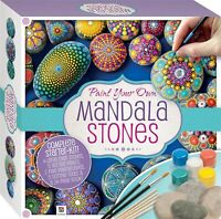 Stone Rock Painting Kit Paint Your Own Mandala Stones Includes Paint and Stones