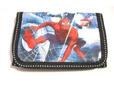 Blue Spider Man 3-fold Boy's Wallet Item 6008