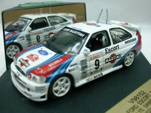 WOW EXTREMELY RARE Ford Escort RS Cosworth WRC #9 Martini Remo 1997 1:43 Vitesse