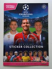 Champions League  2019-2020 - Topps Sticker Album - Empty