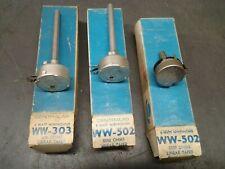 3 - NEW Centralab, Potentiometers - WW303 , 502