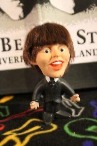 BEATLES 1964 Paul McCartney REMCO Soft Body DOLL Original UNCUT HAIR Vintage