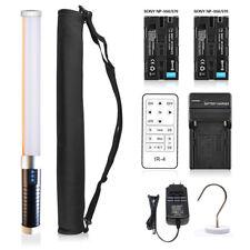 US Mcoplus Magic Tube LED Video Light+ Handheld Light+2 x Battery as LCE Light 2