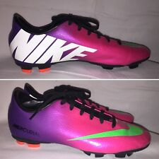 Nike Soccer Shoes Mercurial Vapor Fireberry Size 5Y US