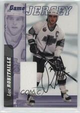 2000-01 ITG Be A Player Signature Series Game Jersey /10 Luc Robitaille Auto HOF