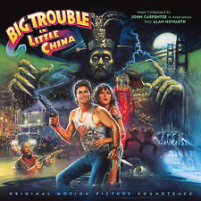 big trouble in little china cd sealed oop la la land john carpenter