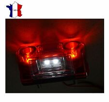 12V 24V LED PLAQUE D'IMMATRICULATION FEU ARRIERE ECLAIRAGE CAMION WAGON REMORQUE