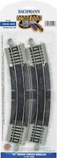 """Bachmann HO Scale E-Z Track Section - 18"""" Radius Curved Rerailer"""