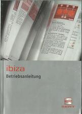 SEAT  IBIZA Betriebsanleitung 2003 Bedienungsanleitung Handbuch Bordbuch BA