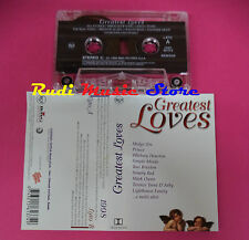 MC GREATEST LOVES compilation WHITNEY HOUSTON SADE PRINCE OWEN no cd lp dvd vhs