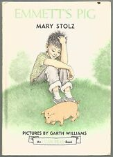 Vintage Children's An I Can Read Book ~ EMMETT'S PIG ~ Garth Williams