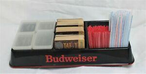 Budweiser Bartender Condiment Tray Caddy