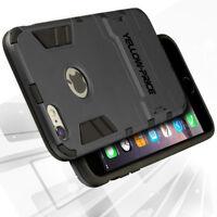 Slim Armor iPhone 6 6s Plus Case w/Kickstand Hybrid Drop Protection+Screen Films