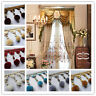 Curtain 1M Trim Plush Ball Beaded Fringe Costume Upholstery Crafts