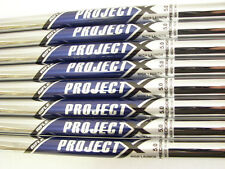 New Rifle Project X SET HL 3-PW 8 Iron Shafts 5.0 Regular+370 Parallel ProjectX