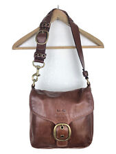COACH Carly Medium Hobo Shoulder Handbag Brown vintage purse satchel bag