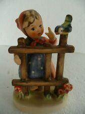 "New ListingGoebel Hummel ""Signs Of Spring"" Tmk #203 1981 W. Germany 4"" high"