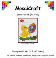 MosaiCraft Pixel Craft Mosaic Art Kit 'Easter Chick' Pixelhobby
