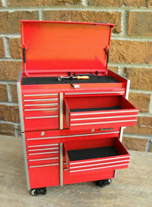 Snap-On Die Cast Metal Tool Storage Replica 1/8 scale Coin Bank KRL1201/1001