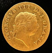 Great Britain: George III gold 1/2 Guinea 1806. KM651, Fr-364.