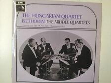LP BEETHOVEN the middle quartets THE HUNGARIAN QUARTET
