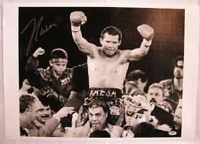 Julio Cesar Chavez Sr. autograph signed 16x20 Canvas boxing Photo PSA/DNA COA