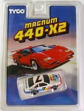 1991 TYCO 440-X2 Zerex #7 Nascar Slot Car 8938 Fast