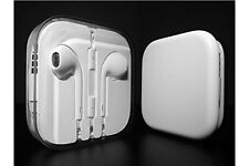 White Earphone With Mic For Apple iPhone 6/5/5S/5C EarPod Headphone Handsfree