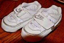 BABY CLOTHES official genuine NIKE branded WHITE TRAINERS shoes 3-9 months