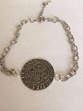 Edward I Groat  Coin WC9 English Pewter on a Anklet / Bracelet